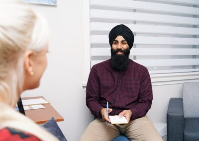 Crossroads Collective Counsellor Paul Singh