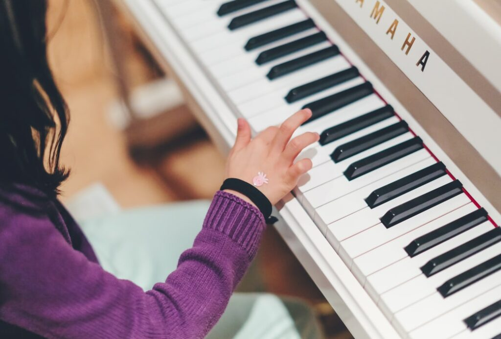 Music therapy piano lessons